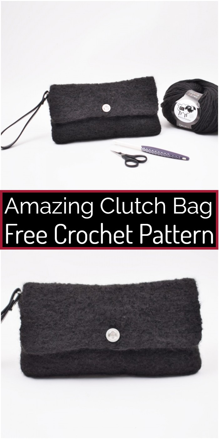 Amazing Crochet Clutch Bag Pattern