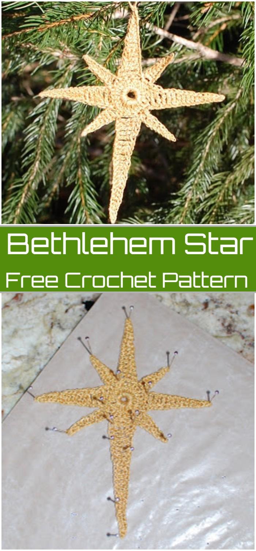 Bethlehem Star Crochet Pattern