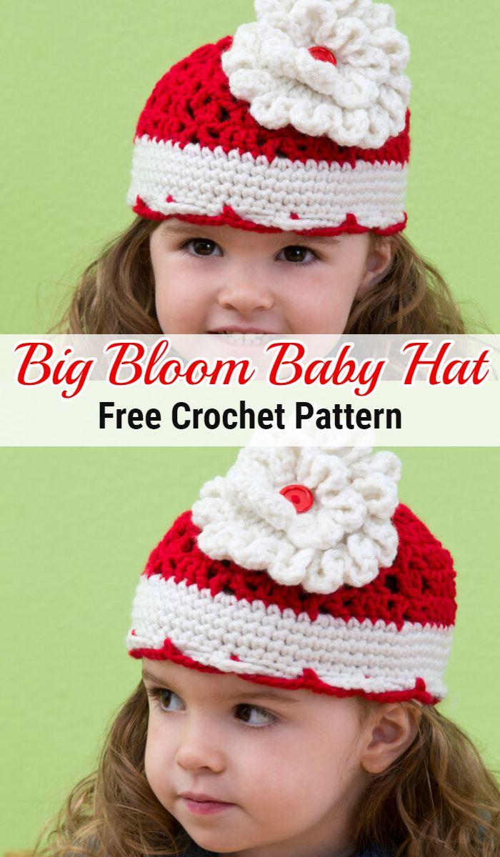 Big Bloom Baby Hat