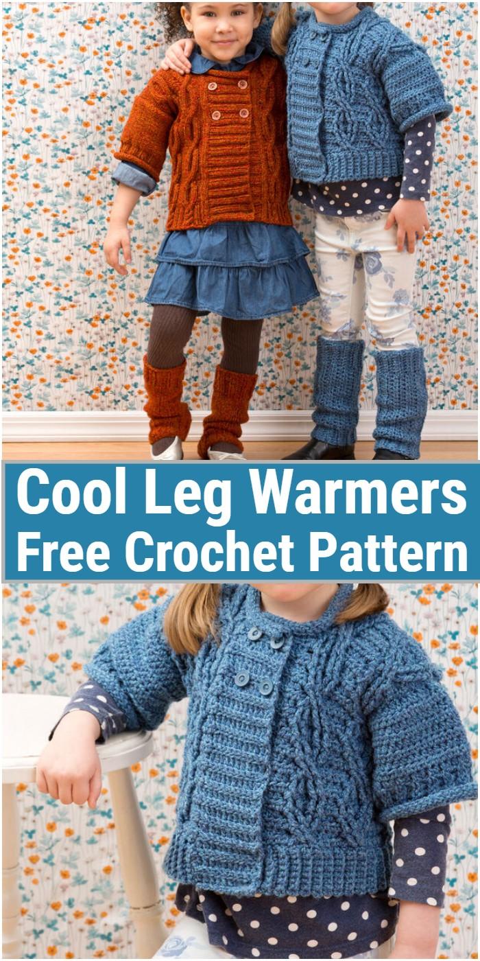 Cool Leg Warmers Crochet Pattern