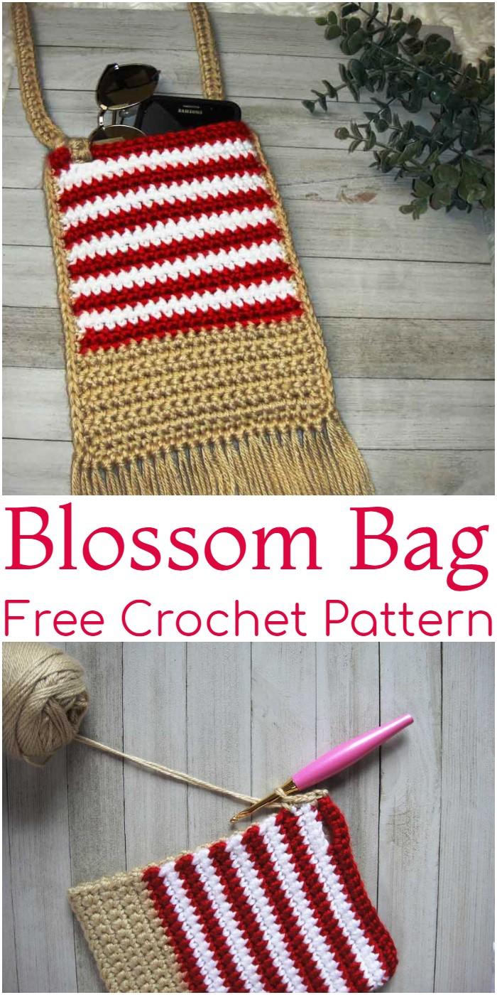 Crochet Blossom Bag Pattern