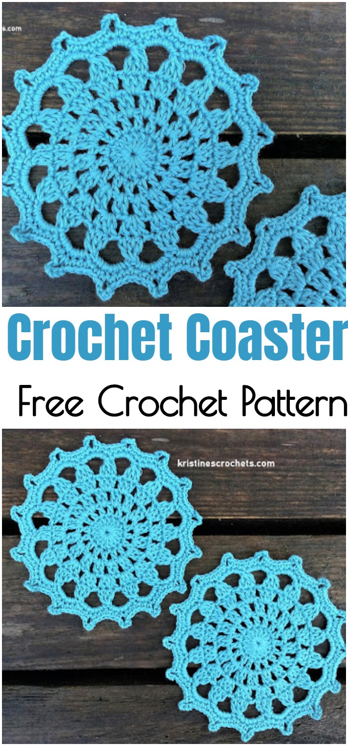 Crochet Coaster - Easy Pattern