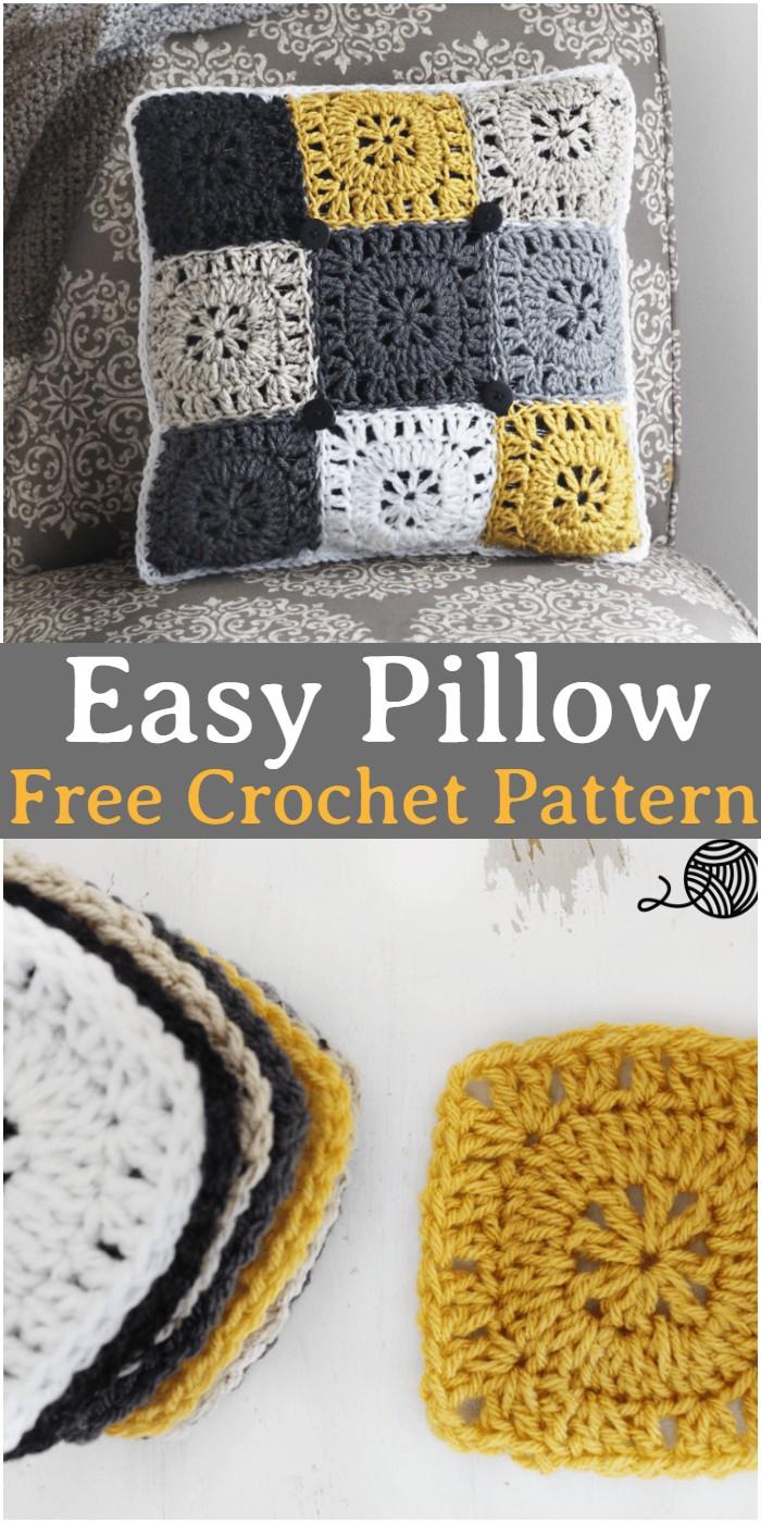 Crochet Easy Pillow Pattern