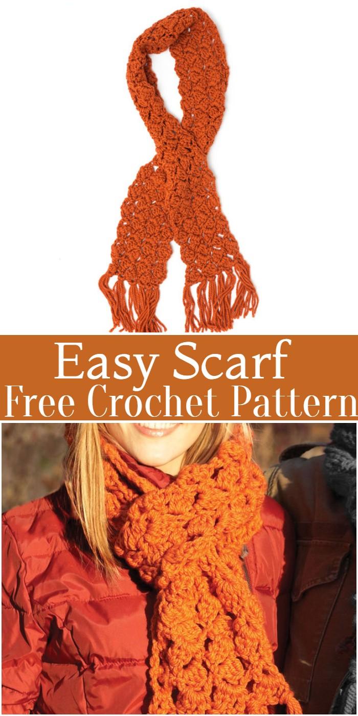 Crochet Easy Scarf Pattern
