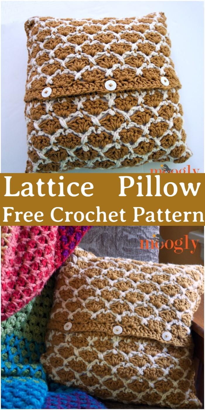 Crochet Lattice Pillow Pattern