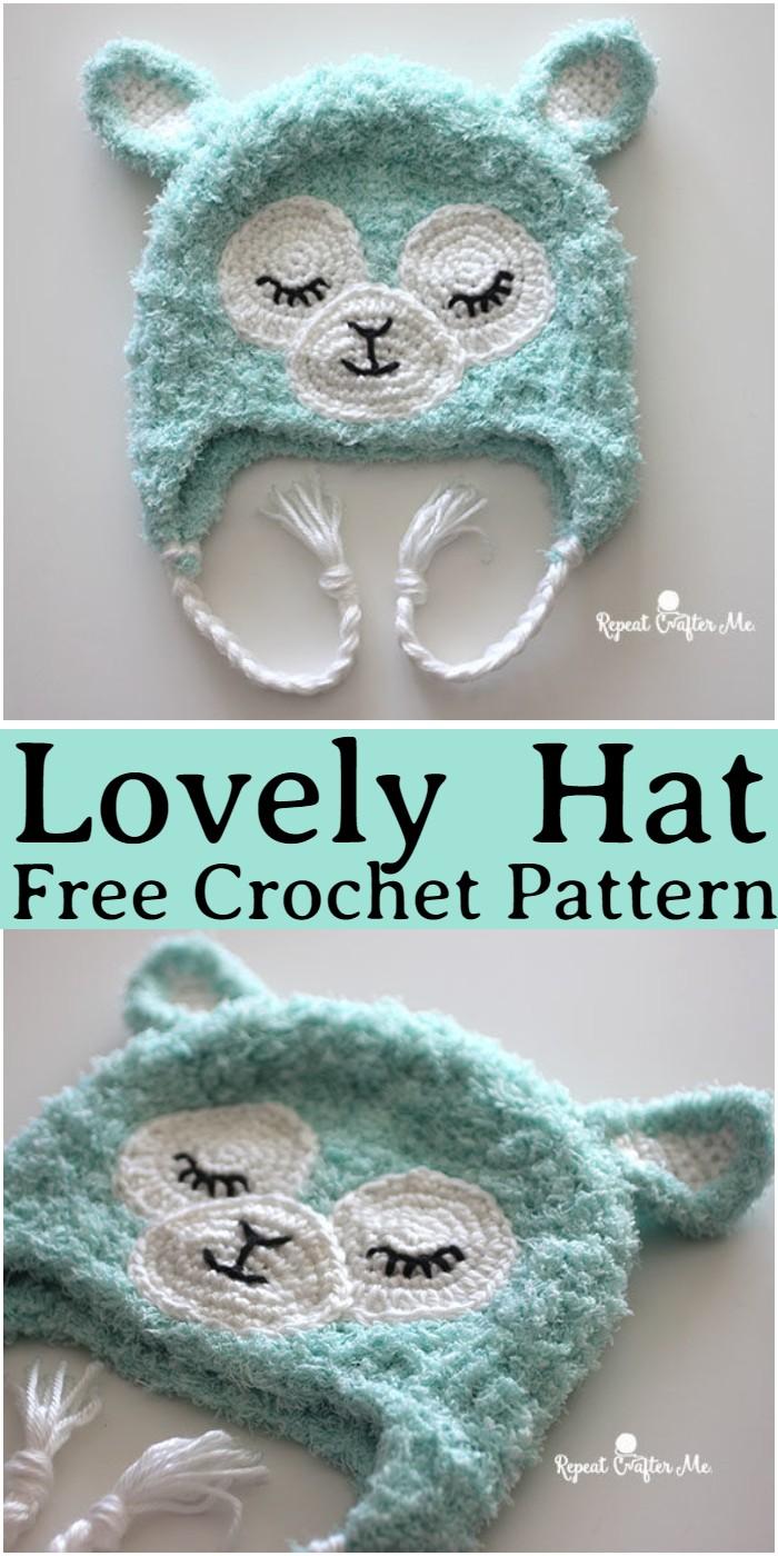 Crochet Lovely Hat Pattern