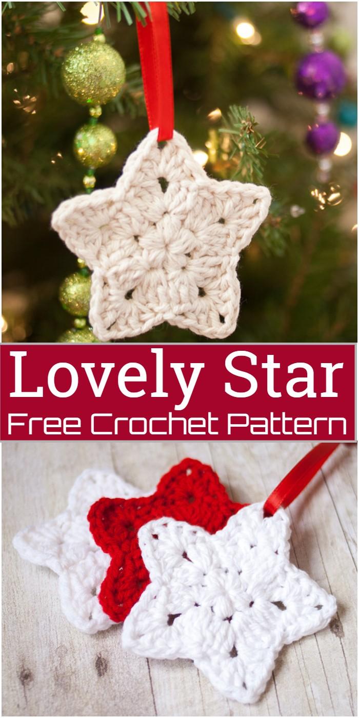 Crochet Lovely Star Pattern