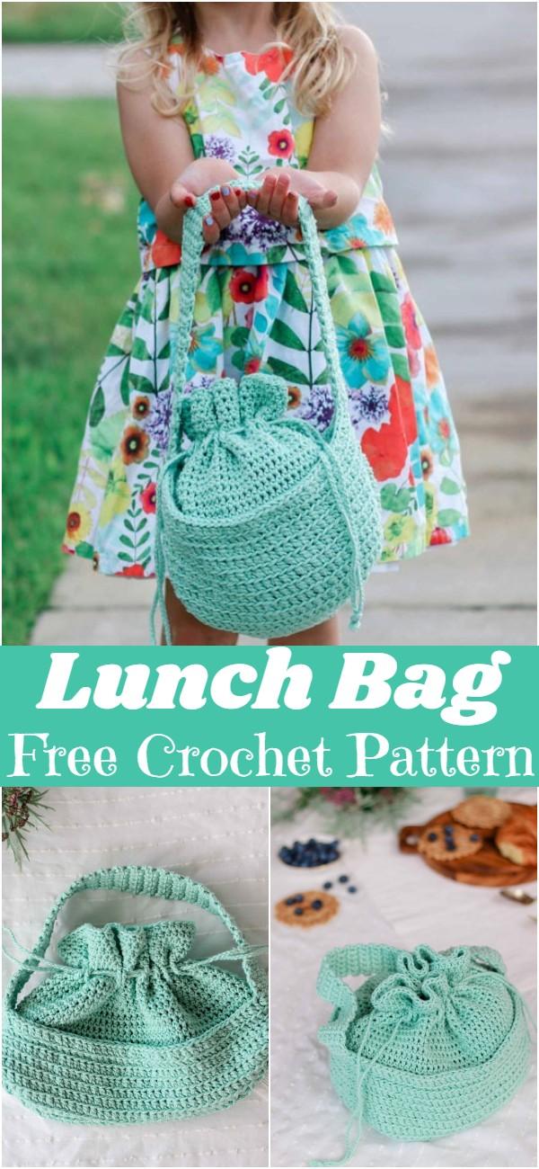 Crochet Lunch Bag Pattern