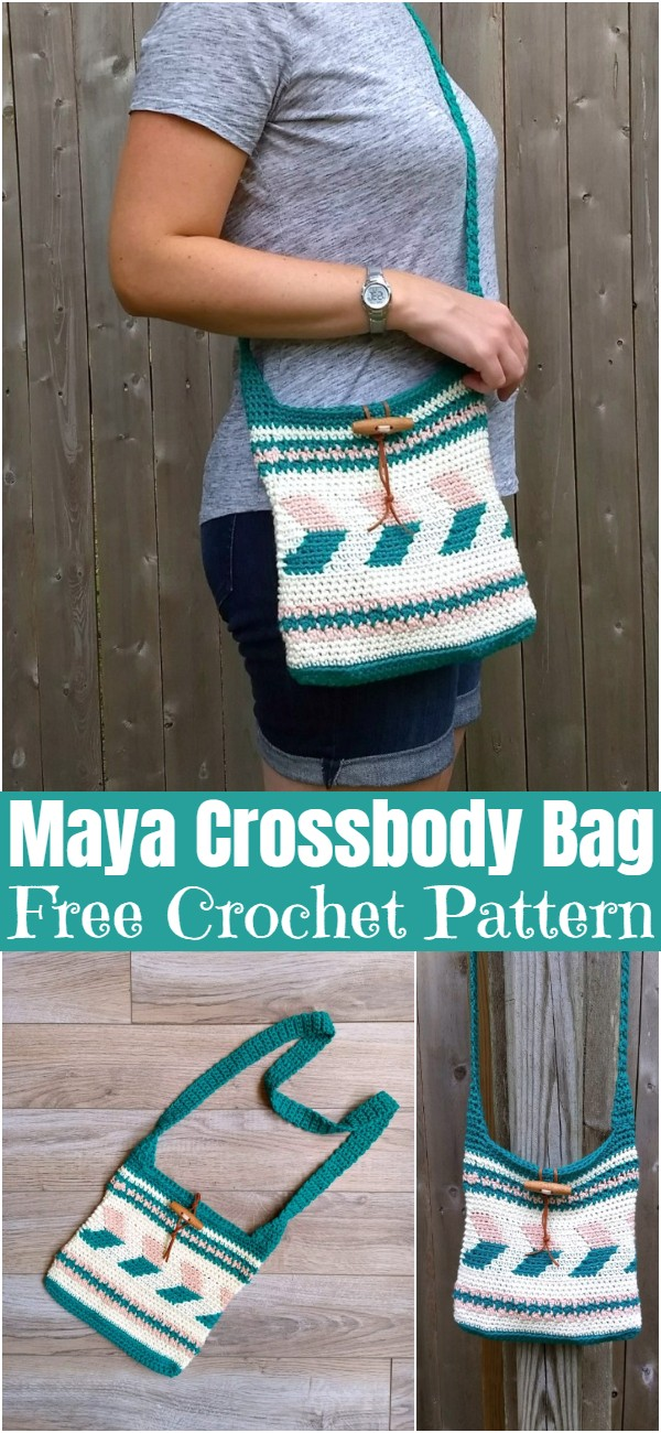 Crochet Maya Crossbody Bag Pattern