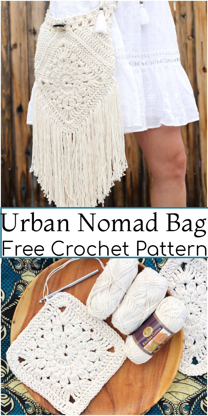 Crochet Urban Nomad Bag Pattern
