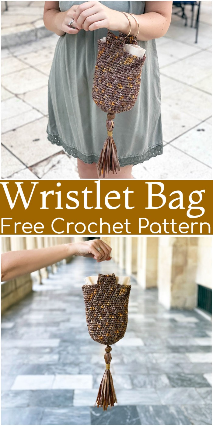 Crochet Wristlet Bag Pattern