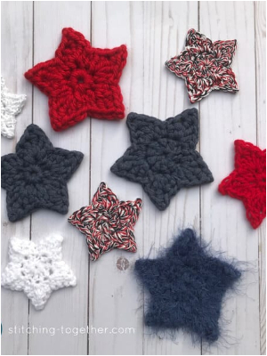 Cute And Adorable Crochet Star Patterns to Brighten Up Your Home
