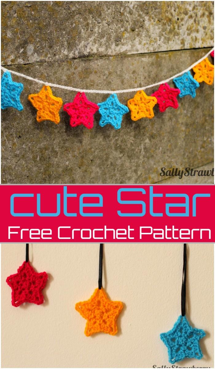 Cute Star Crochet Pattern