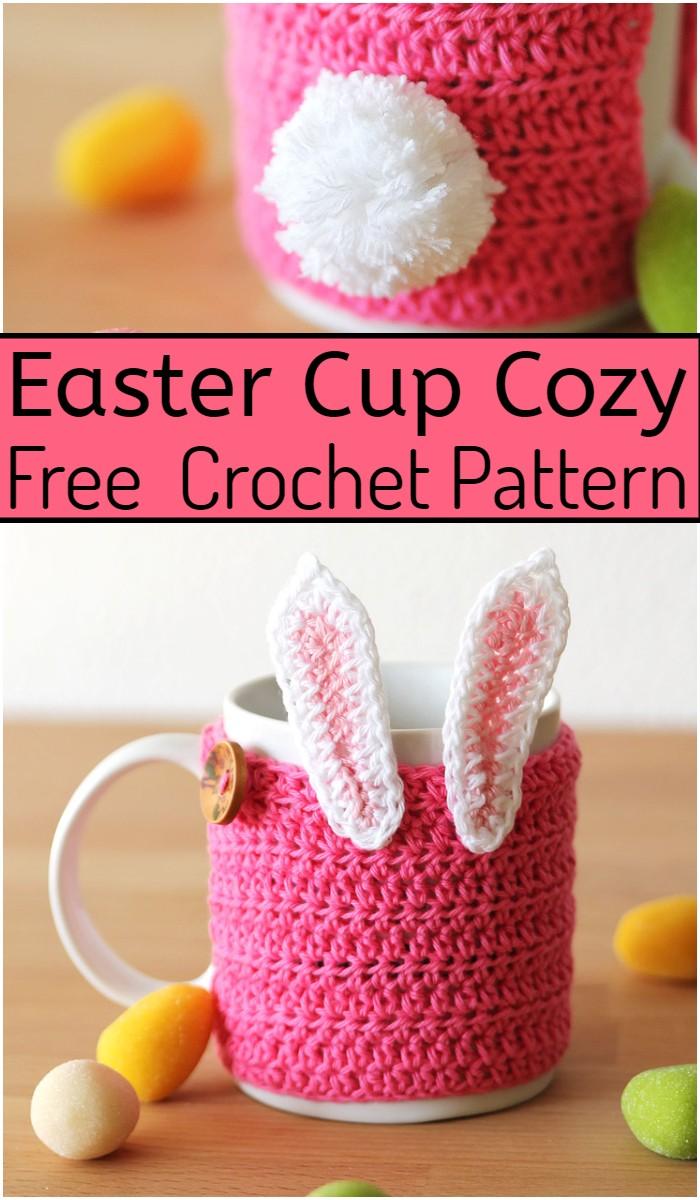 Easter Cup Cozy Crochet Pattern
