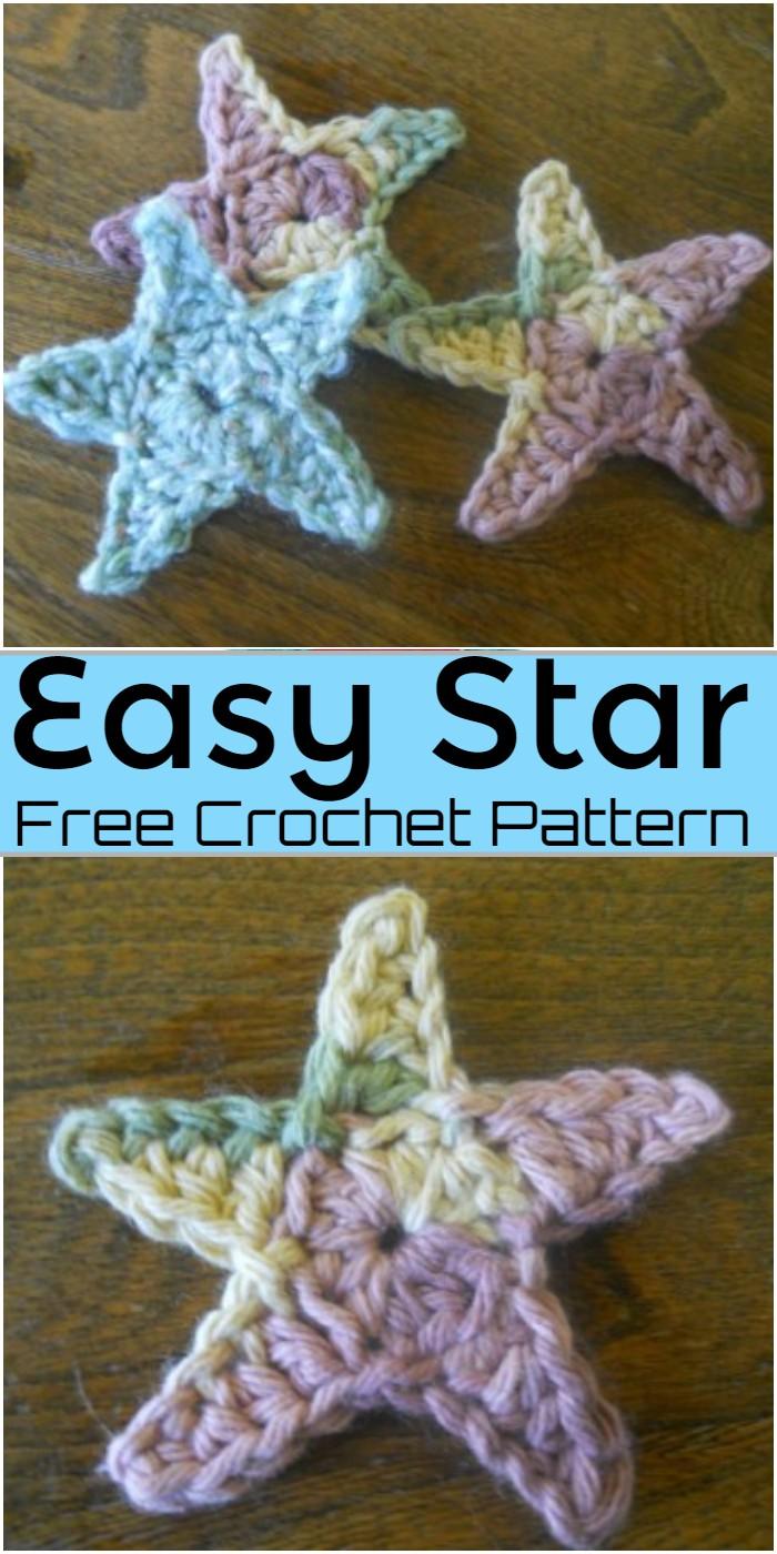 Easy Star Crochet Pattern