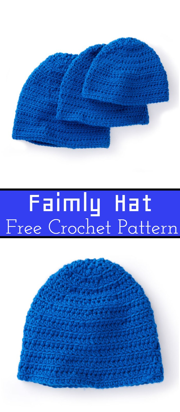 Family Crochet Hat Patterns