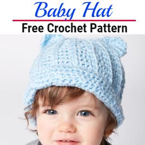 Free Crochet Baby Hat