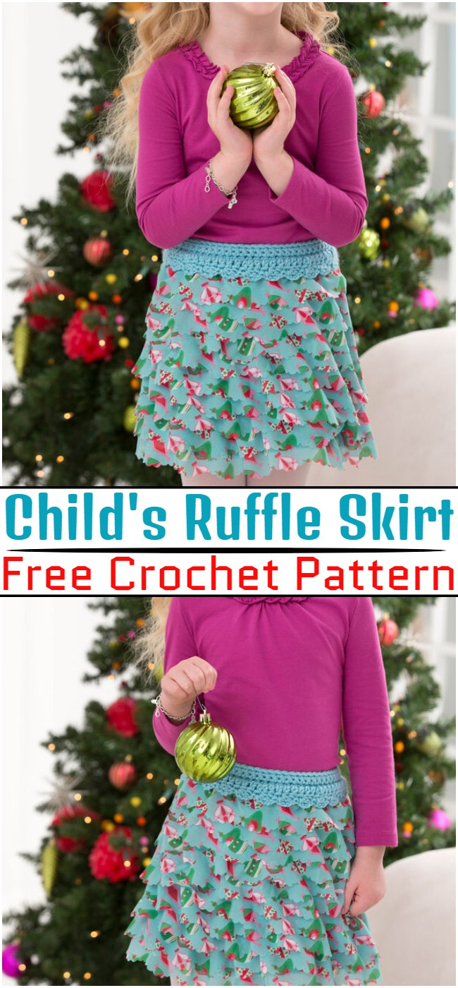 Free Crochet Child's Ruffle Skirt PatternFree Crochet Child's Ruffle Skirt Pattern
