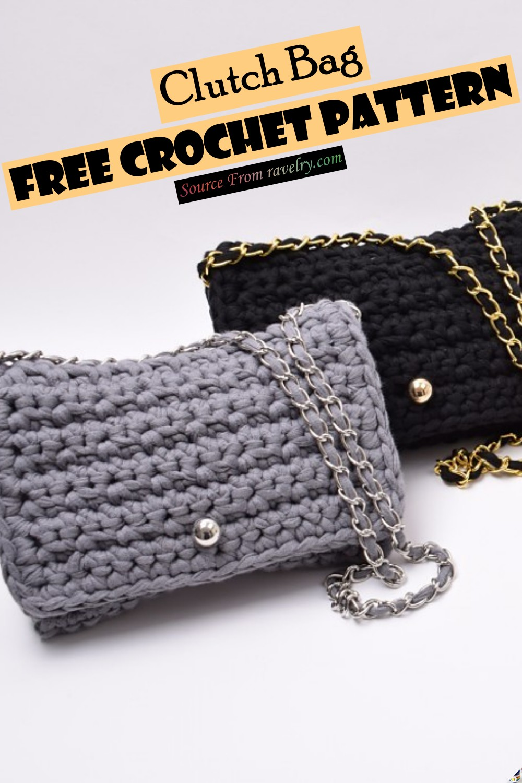 Free Crochet Clutch Bag Pattern