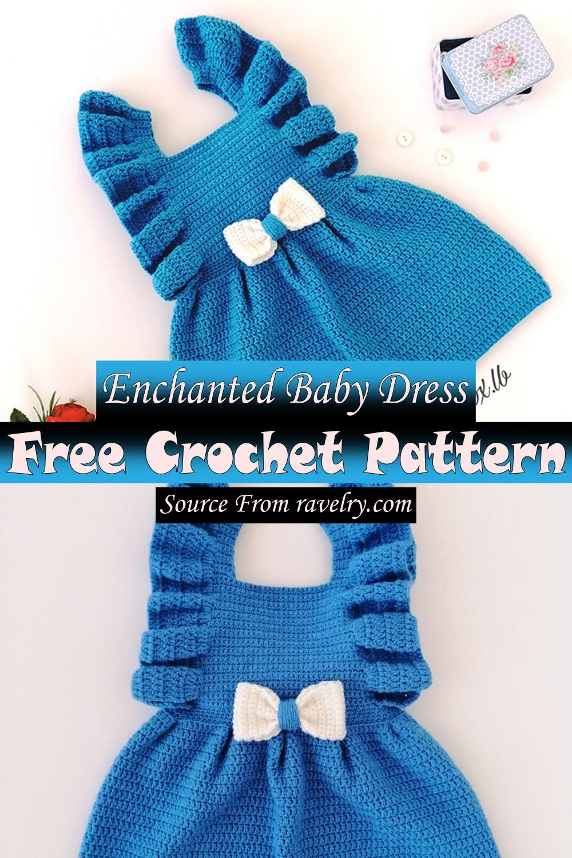Free Crochet Enchanted Baby Dress Pattern