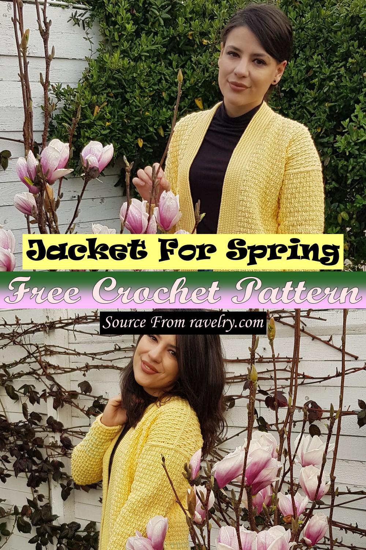 Free Crochet Jacket For Spring Pattern