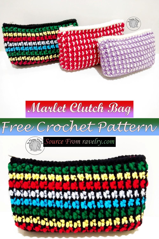 Free Crochet Marlet Clutch Bag Pattern