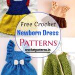 Adorable Free Crochet Newborn Dress Patterns