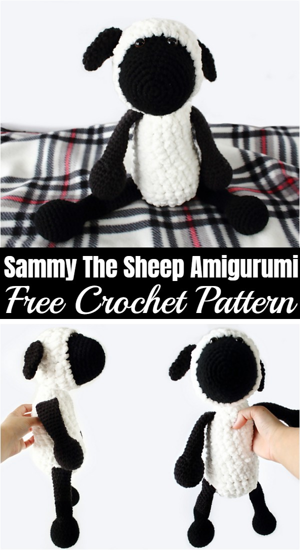 Free Crochet Sammy The Sheep Amigurumi Pattern