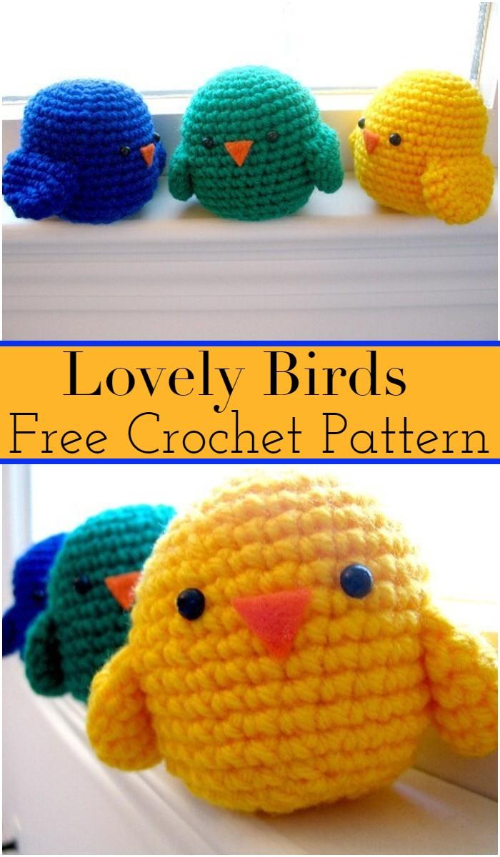 Lovely Crochet Birds Patterns