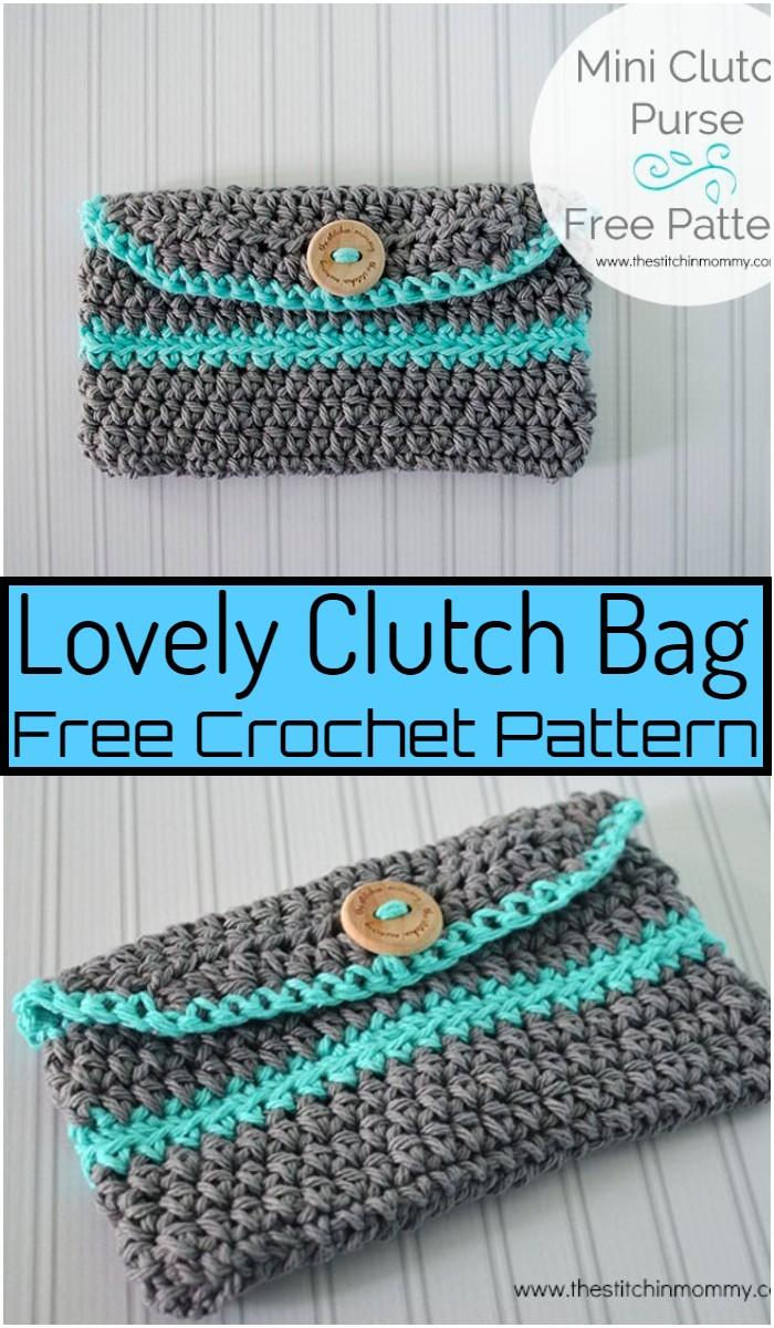 Lovely Crochet Clutch Bag Pattern