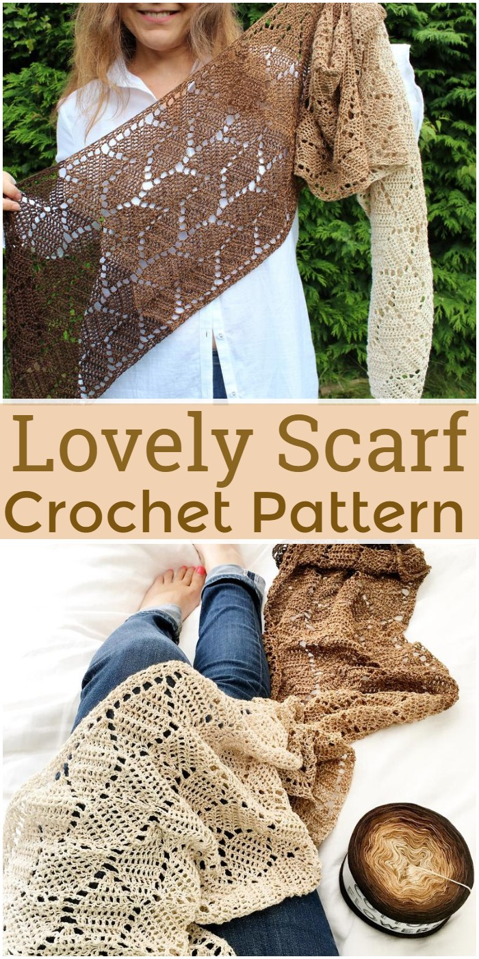 Lovely Crochet Scarf