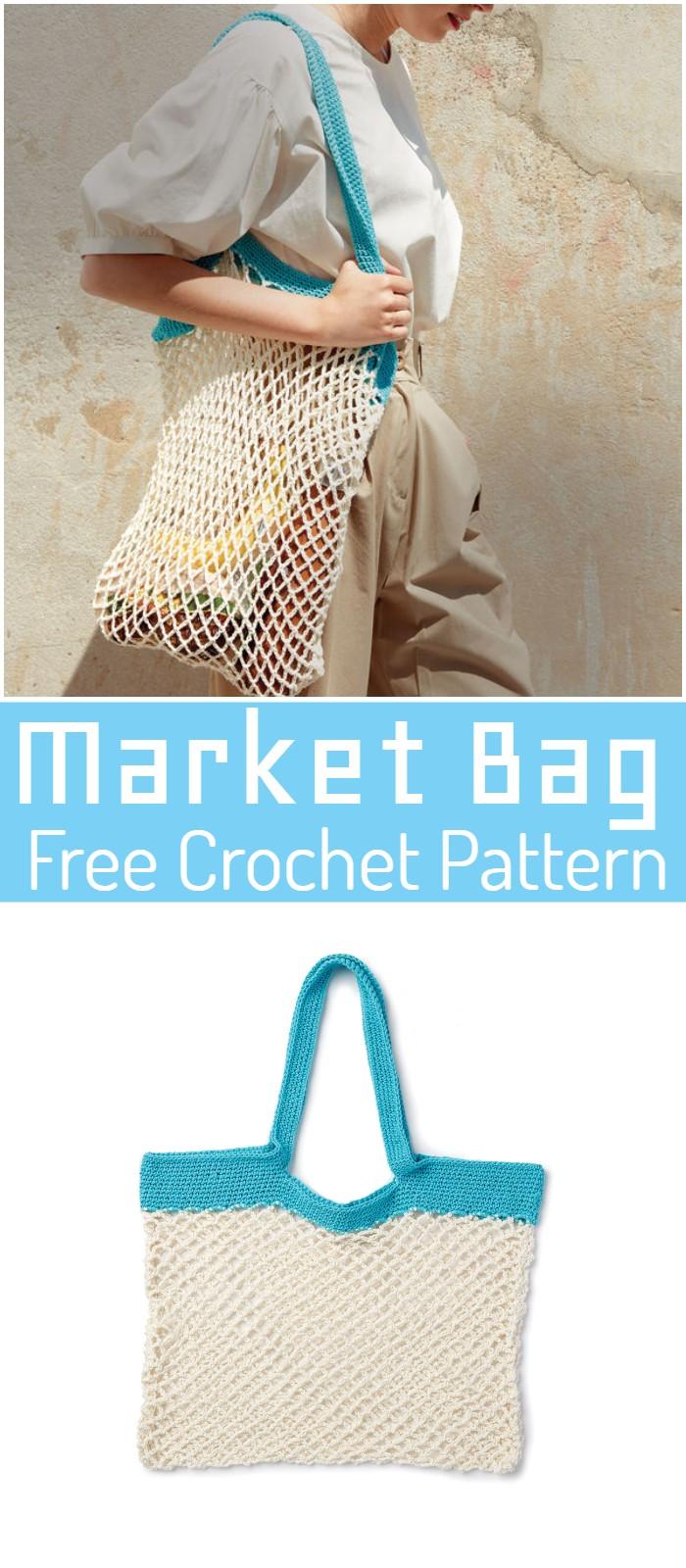 Market Crochet Bag Pattern
