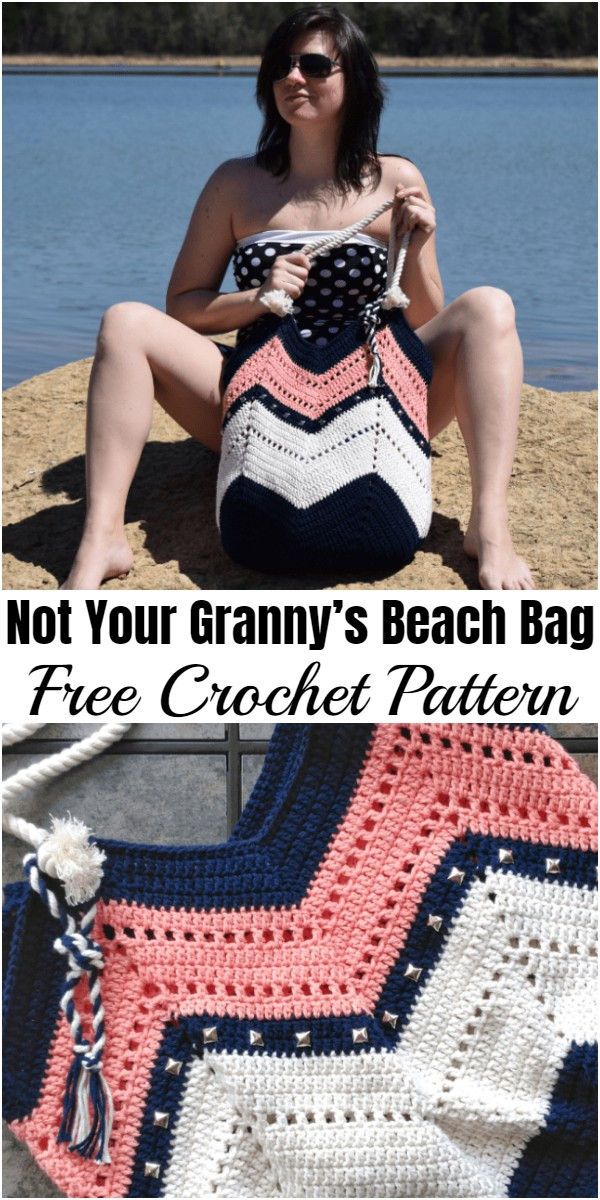 Not Your Granny's Beach Bag