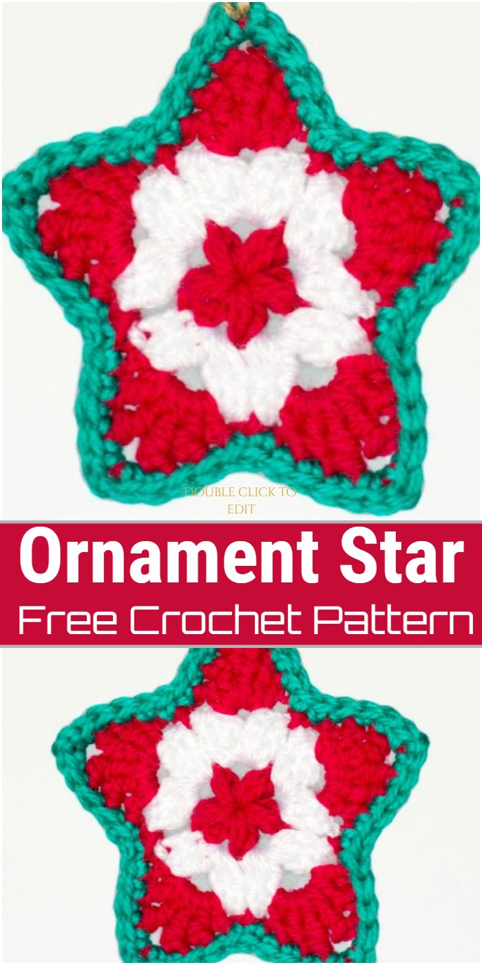 Ornament Star Crochet Pattern