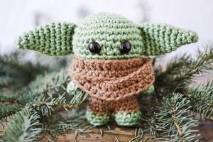 Pocket Baby Alien Amigurumi Crochet Free Pattern