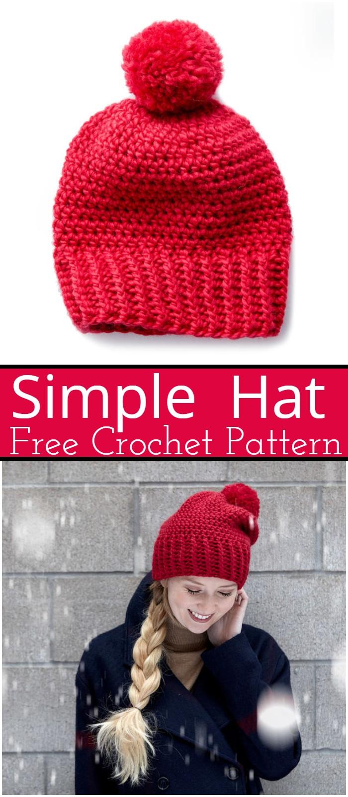 Simple Crochet Hat Patterns