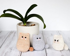 The Itty Bitty crochet kitty Pattern