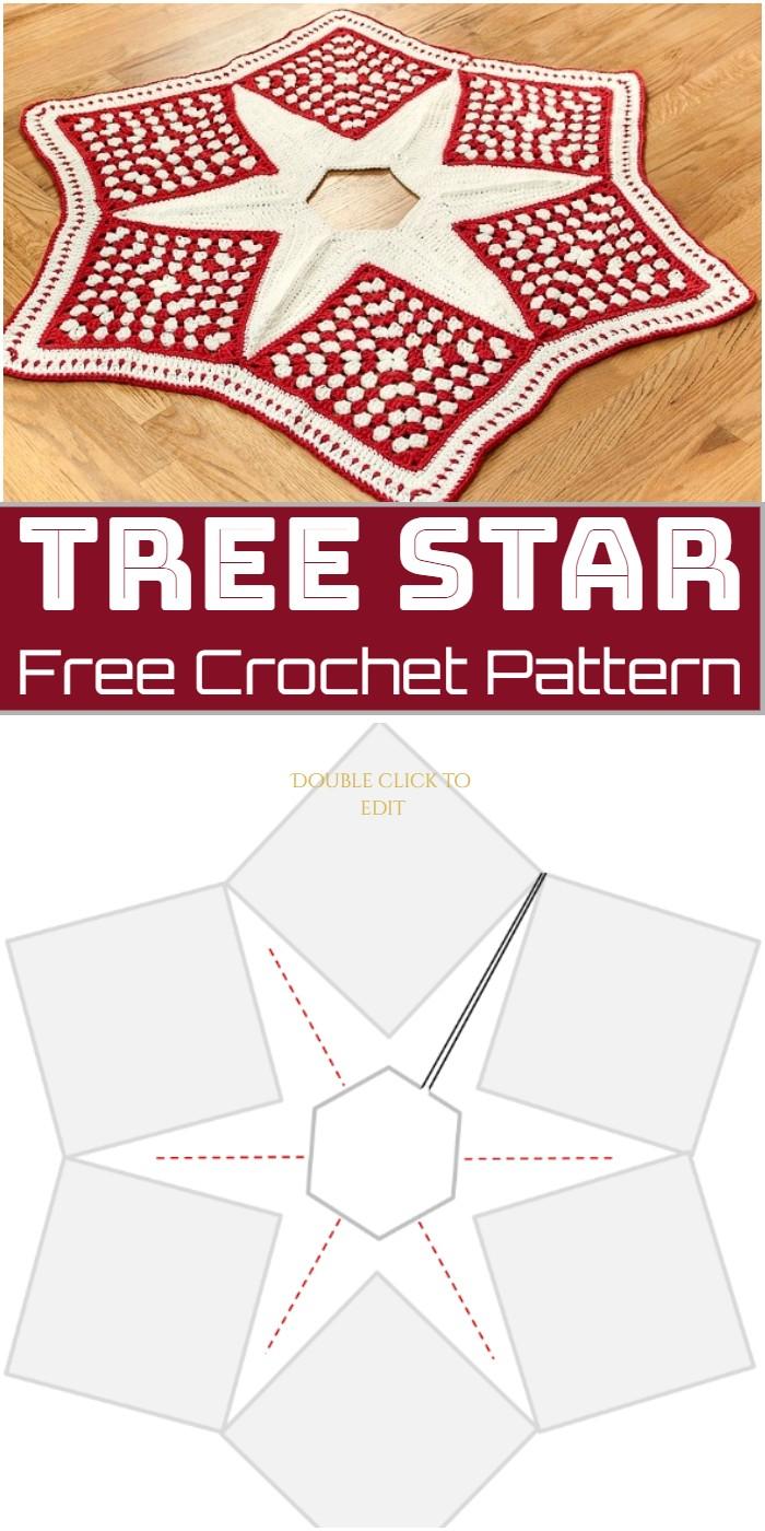 Tree Crochet Star Pattern