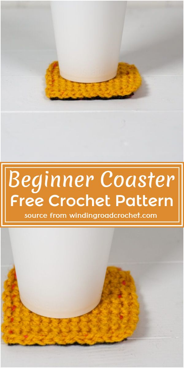 Beginner Coaster Crochet Pattern