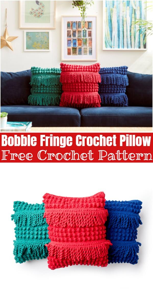 Bobble Fringe pattern