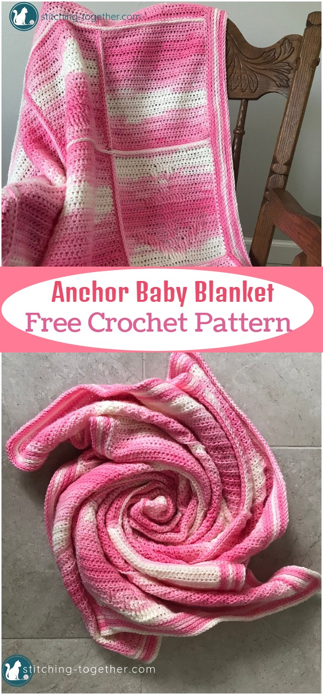 Crochet Anchor Baby Blanket Pattern