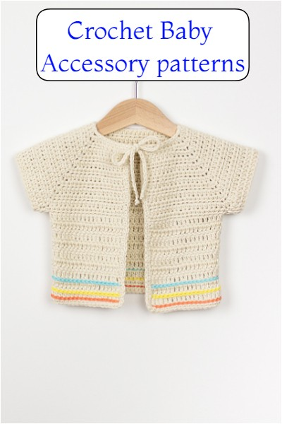 Crochet Baby Accessory patterns
