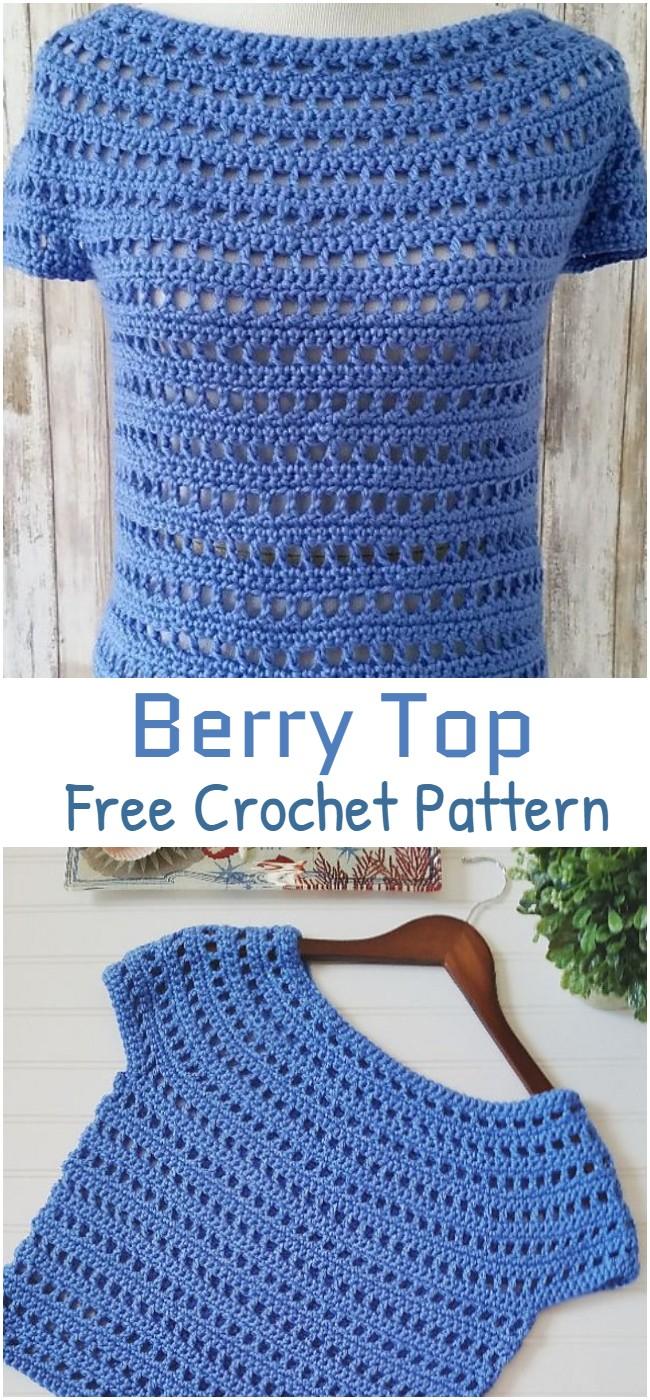 Crochet Berry Top Pattern