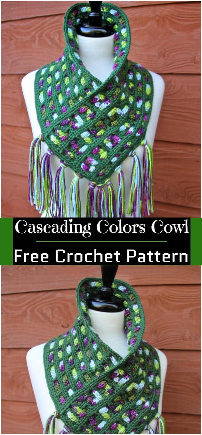 Cascading Colors Pattern