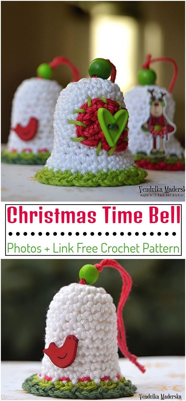 Crochet Christmas Time Bell Pattern