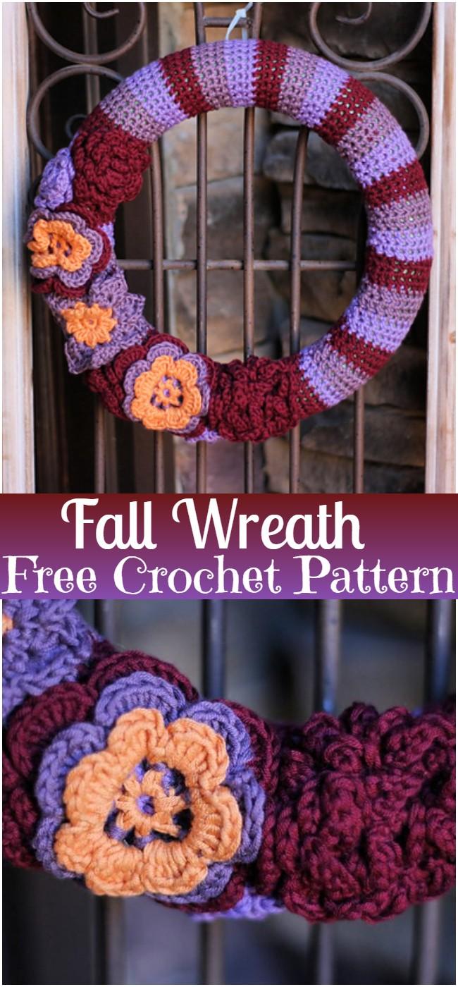 Fall Wreath Pattern