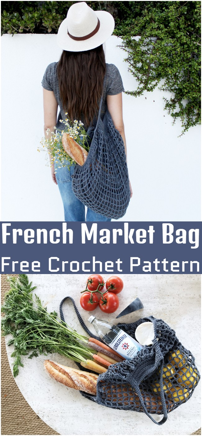 Crochet French Market Bag Pattern