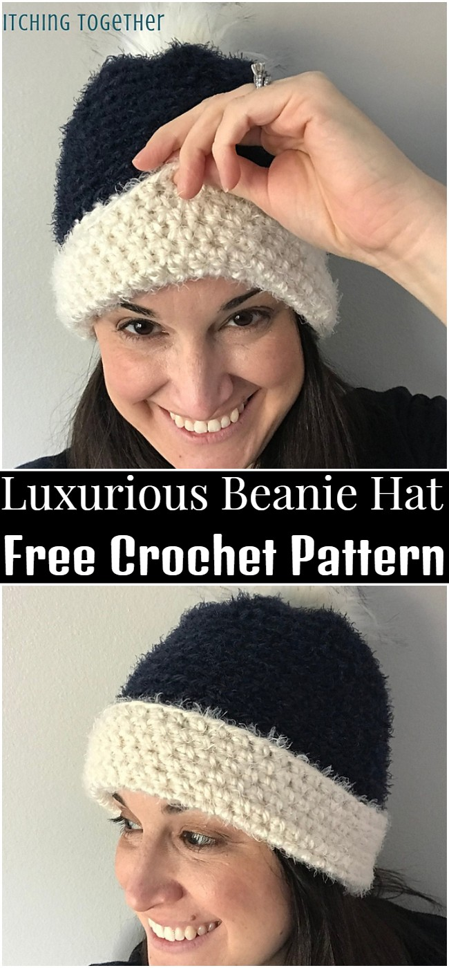 Crochet Luxurious Beanie Hat Pattern