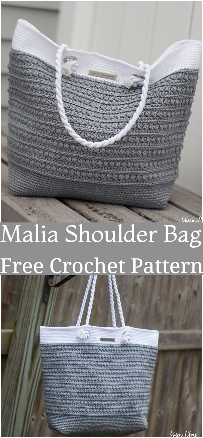 Crochet Malia Shoulder Bag Pattern