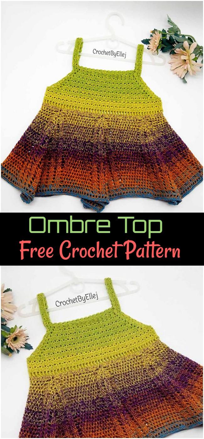 Crochet Ombre Top Pattern